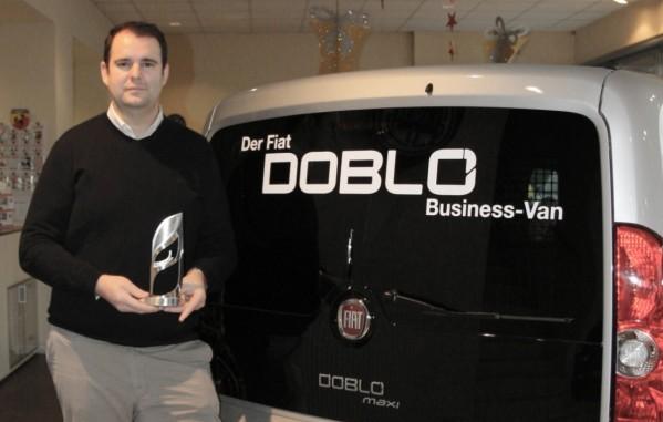Autohaus Damisch wird mit dem Fiat Pofessional Award ausgezeichnet!