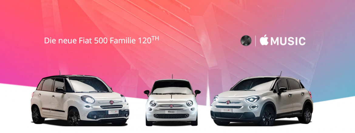 Fiat bietet Apple Experience mit Apple Music und Apple CarPlay
