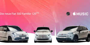 Fiat bietet Apple Experience mit Apple Music und Apple CarPlay
