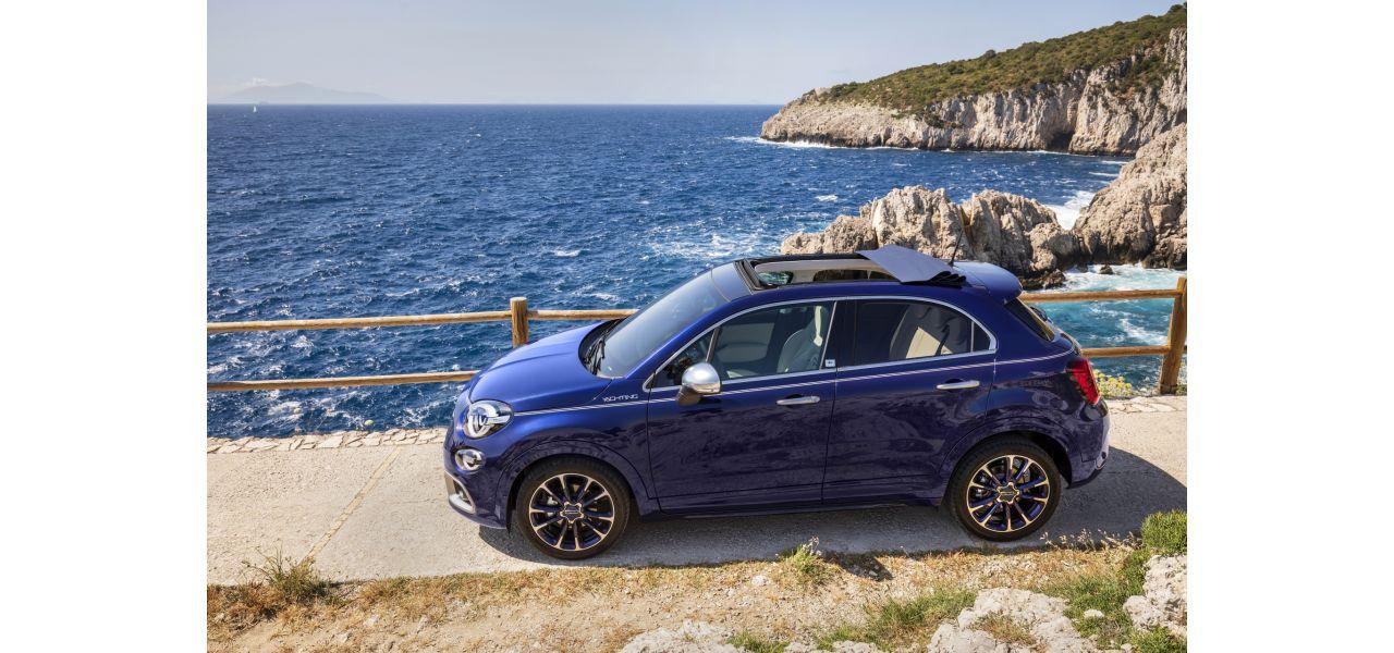 Fiat 500X Yachting Club Capri