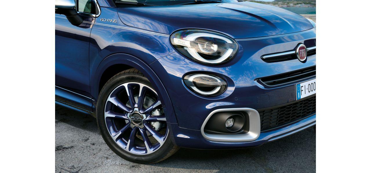 """Fiat 500X Sonderserie """"Yachting Club Capri"""" Preise, Ausstattung und Bestellung"""